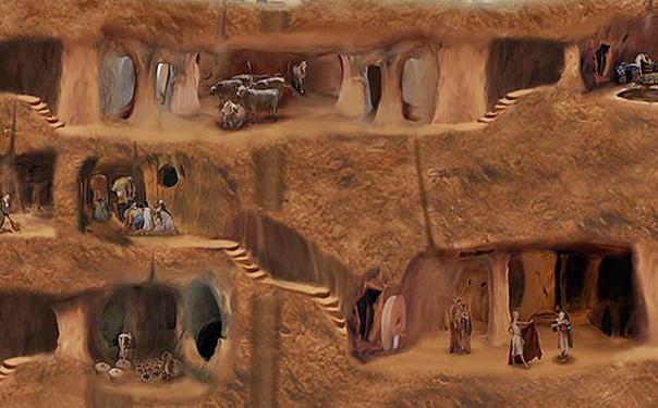 Pēc sirmā arheologa domām... Autors: Fosilija Pundurīšu pazemes pilsētas 2.
