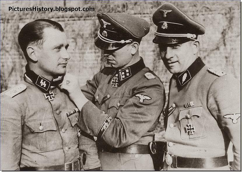 Waffen SS virsnieks Kurts... Autors: DamnRiga Retas vēsturiskas fotogrāfijas. Pirmā daļa.