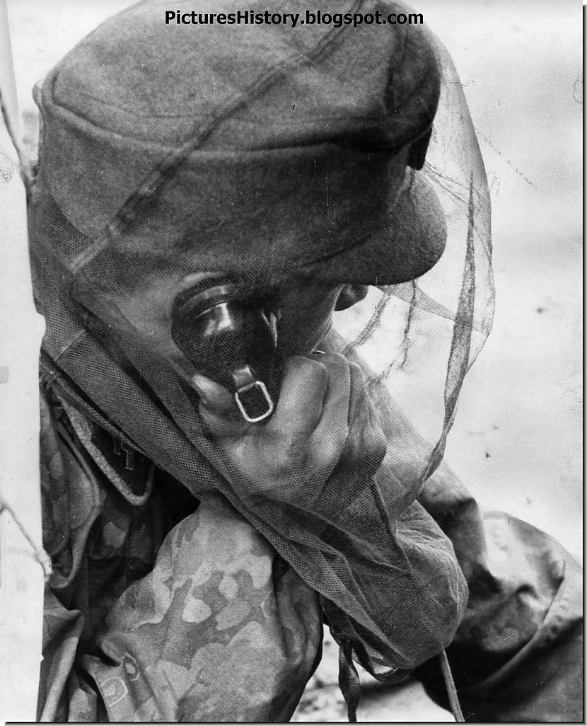 Kalnu reindžers no Nord SS... Autors: DamnRiga Retas vēsturiskas fotogrāfijas. Pirmā daļa.