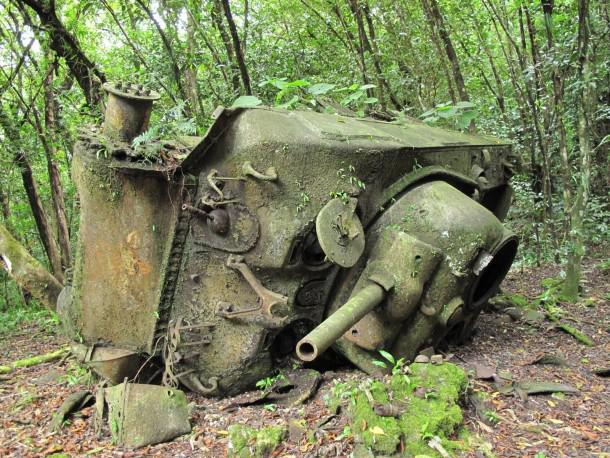 Apgāzies US Sherman tanks pēc... Autors: DamnRiga WWII Sašauti amerikāņu tanki