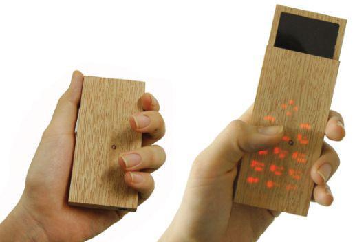 No koka veidots tālrunisJa kā... Autors: Razam4iks 8 interesanti mobilo tālruņu koncepti