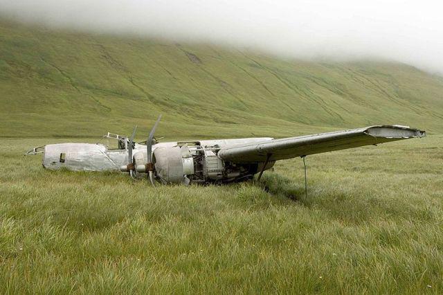 Consolidated B24D Liberator... Autors: DamnRiga WWII Pamesti, avarējuši, atrasti lidmašīnu vraki.