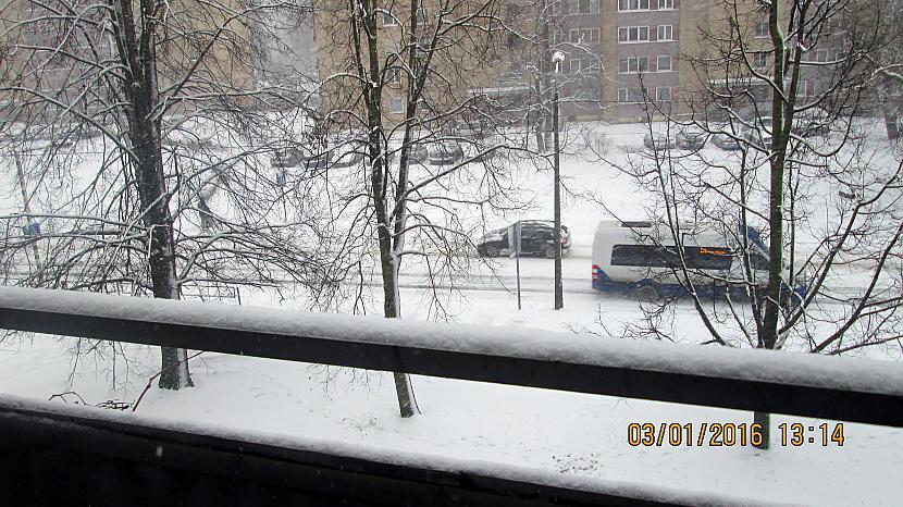 Sen gaidītā baltā ziema... Autors: rasiks Rakstām vēsturi (ar turpinājumu)