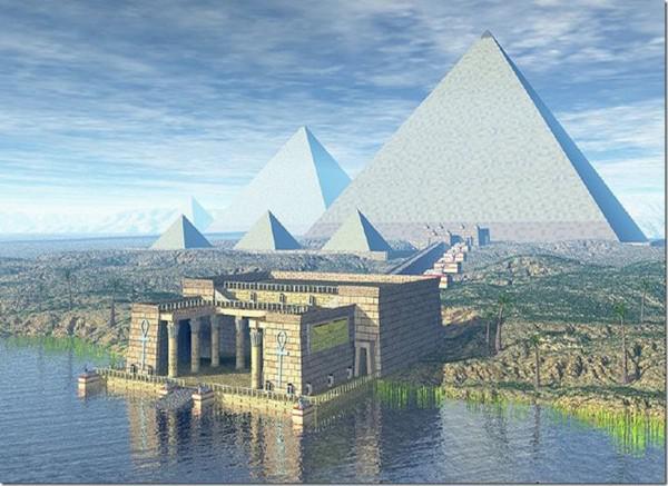 Gizas piramīdas bija... Autors: kaķūns 7 lietas par kuru vēsturi mums nav zināms viss