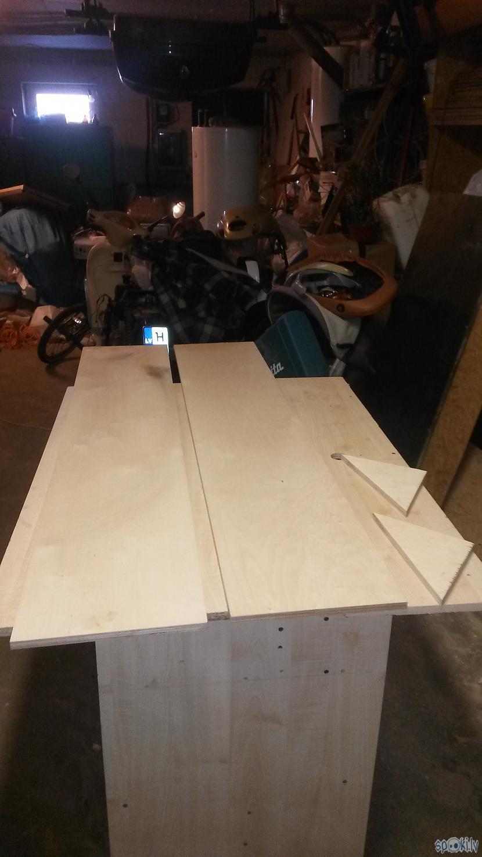 Lūk arī piezāģētais materiāls ... Autors: Bruzis Viens un divi - pakaramais gatavs.