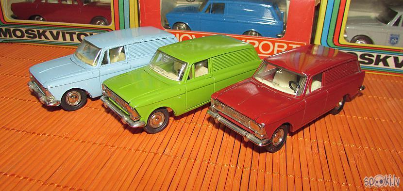 Moskvitch  433434 krāsu... Autors: pyrathe Mani CCCP automodelīši 1/43: kolekcijas papildinājums