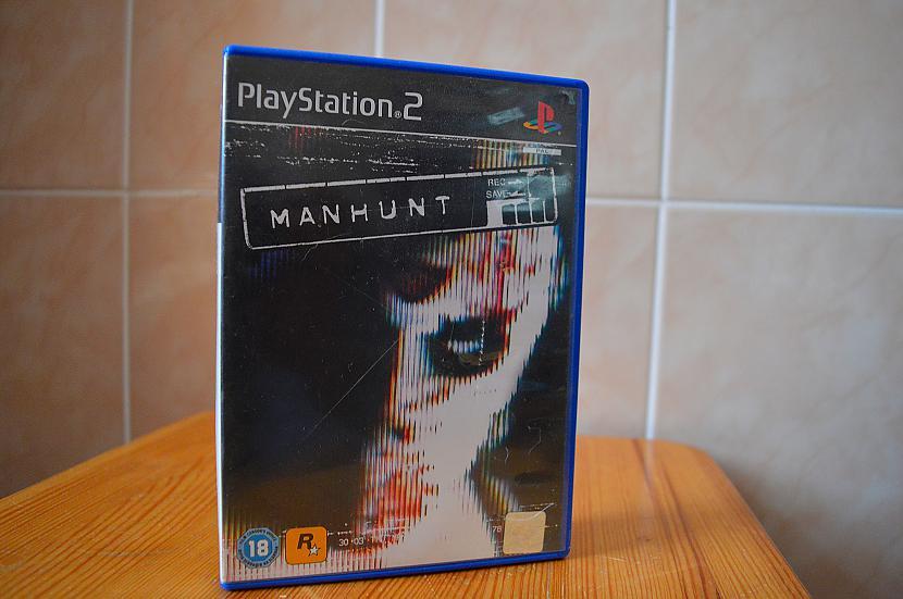 Manhunt Autors: Hank Moody Mana spēļu kolekcija! PS2