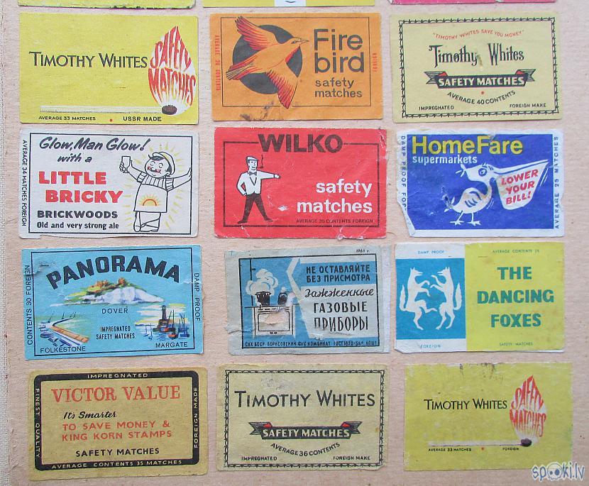 Autors: pyrathe Bērnības dienu kolekcija: etiķetes no sērkociņu kastītēm (1.daļa)