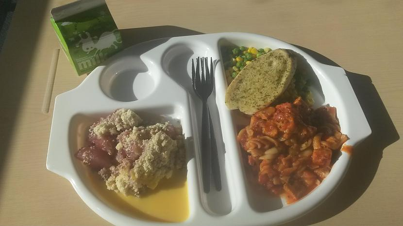 TrescarondienaMakaroni... Autors: Fosilija Manas skolas pusdienas Anglijā