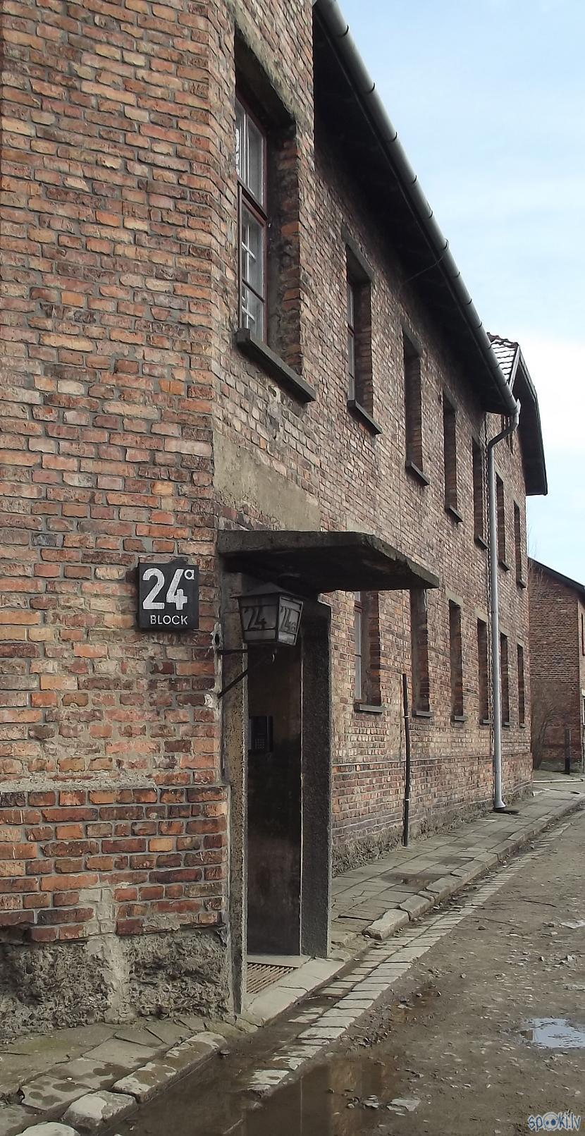 Pirmie bloki kaut ja nummurs... Autors: Fosilija Es tur biju, es to redzēju - Aušvices koncentrācijas nometne Birkenau #1