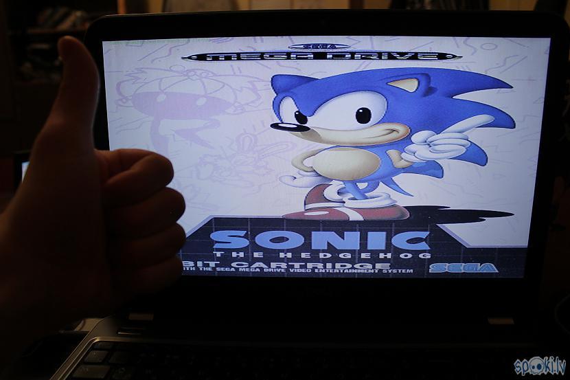 Autors: bgcentrs Sonic the hedgehog (Sega klasika   tiešraide)