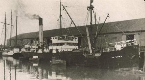 SS Baychimo un tā apkalpe... Autors: Kapteinis Cerība Spoku kuģis SS Baychimo