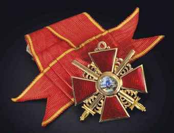 Sv Annas ordenis 3scaronķira... Autors: Boleslavs89 Igaunijas leģiona 20.divīzijas artilērijas pulka komandieris Aleksandrs Soboļevs