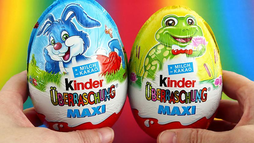 Kinder Surprise MAXI Autors: tuktak Jaunās Lieldienu Maxi olas