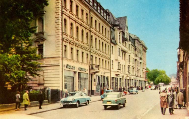 Elizabetes iela 1960 gadā Autors: NavLV Rīga pirms 50 gadiem 1. daļa