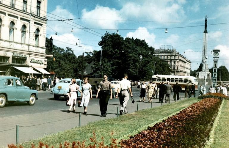 Brīvības iela 50tie gadi Autors: NavLV Rīga pirms 50 gadiem 1. daļa