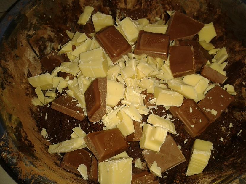 Salaužam scaronokolādes... Autors: breezy18 Gribi kaut ko ļoti šokolādīgu?
