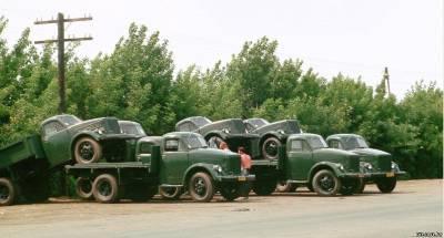 Scaronādā veidā viņi tika... Autors: Klusais vājprāts GAZ 51 GAZ 63  (1946 g. - 1975 g.) 1