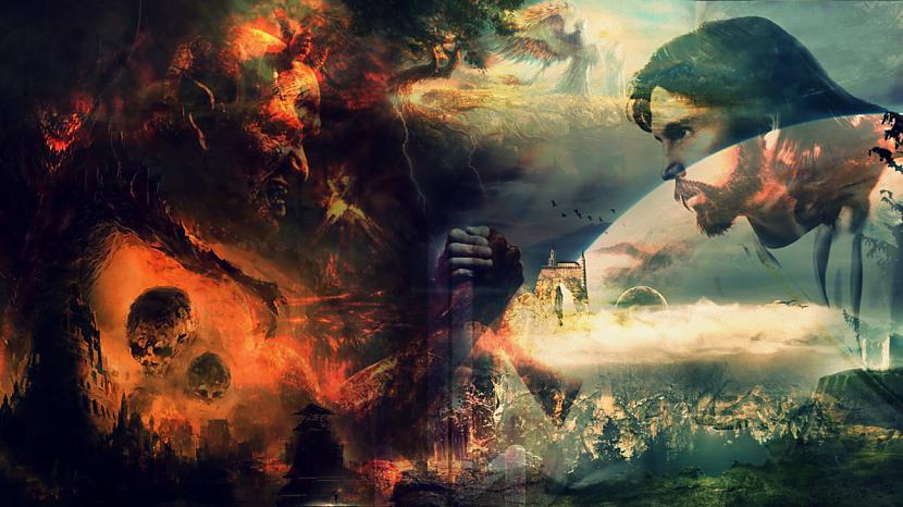 Tad nu kristietības... Autors: LordsX Vai mēs visi degsim ellē?