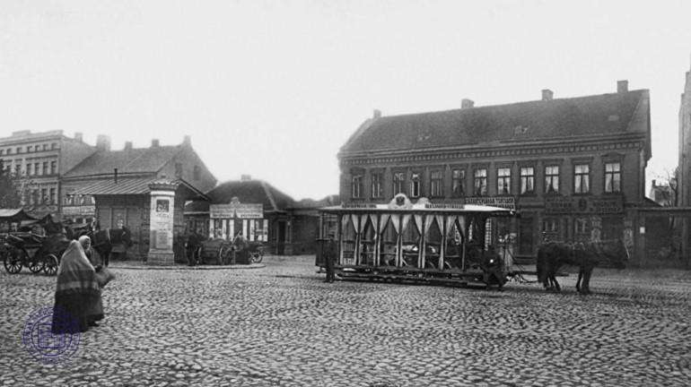 Zirgu tramvajsAttēlā redzama... Autors: Fosilija 20 lietas, kuras kādreiz bijušas Rīgā