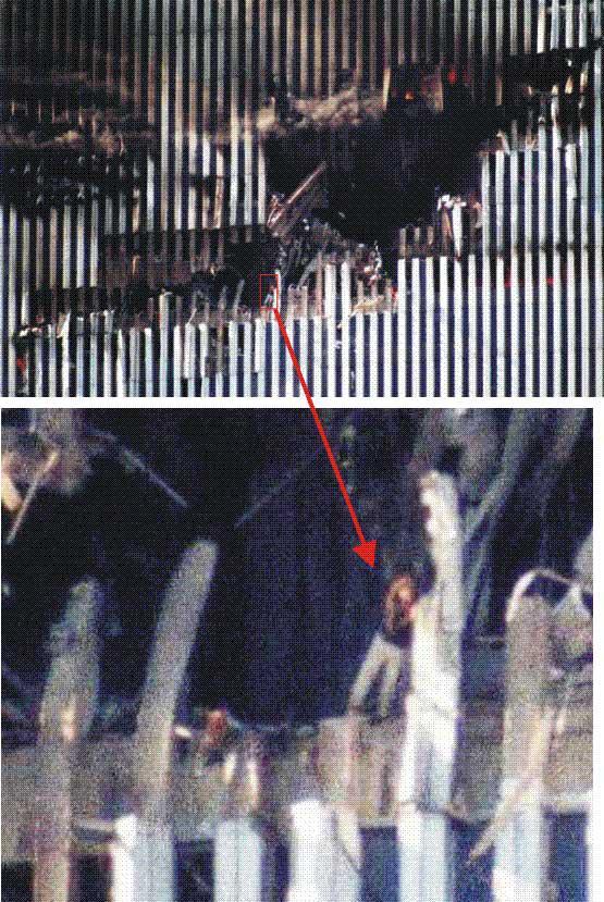 quotSieviete caurumāquotVēl... Autors: Testu vecis Mazāk redzēti foto, kas šokēja pasauli (2)