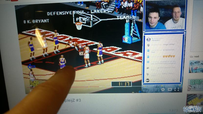 Autors: zeminem2 NBA Live 98 (SEGA) tiešraide
