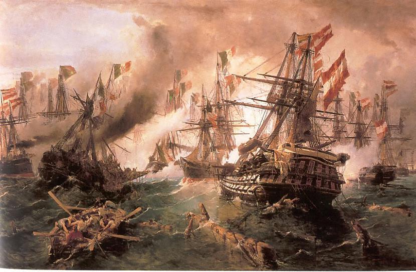 Kleopatra vadīja jūras flotes... Autors: The Diāna Kleopatra - 10 fakti