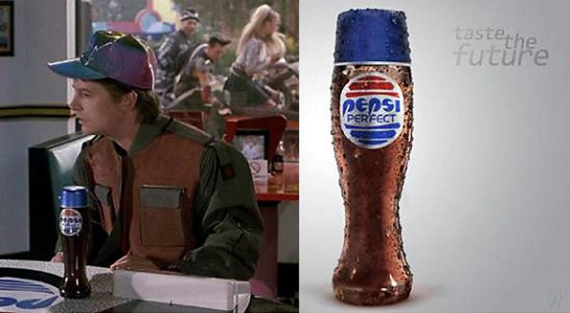 Atpakaļ nākotnē 2015g ir Pepsi... Autors: Lestets Pareģojumi no Atpakaļ nākotnē
