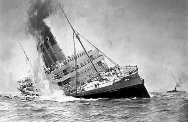 RMS Lusitania... Autors: Testu vecis Ignorēti brīdinājumi, kas beidzās traģiski