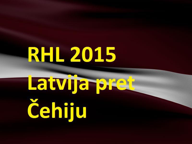 Autors: Latvian Revenger RHL 2015 Pasaules čempionāts hokejā: 5. spēle - Latvija pret Čehiju!