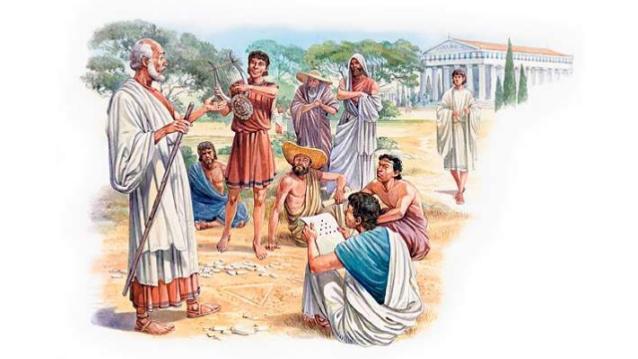 Gan senie grieķi gan... Autors: KXoP No krūmiņiem līdz tualetei