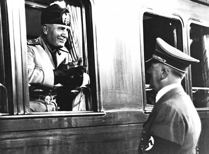 Itālijas fascaronistu līderis... Autors: Heroīns14 Diktatoru pusdienas.