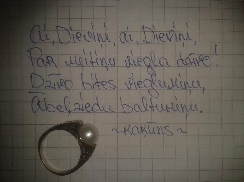 Autors: kaķūns FS četrrinde + gredzens