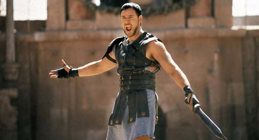 Pirms Rasela Krova loma tika... Autors: kaķūns Interesanti par leģendāro filmu ''Gladiators''