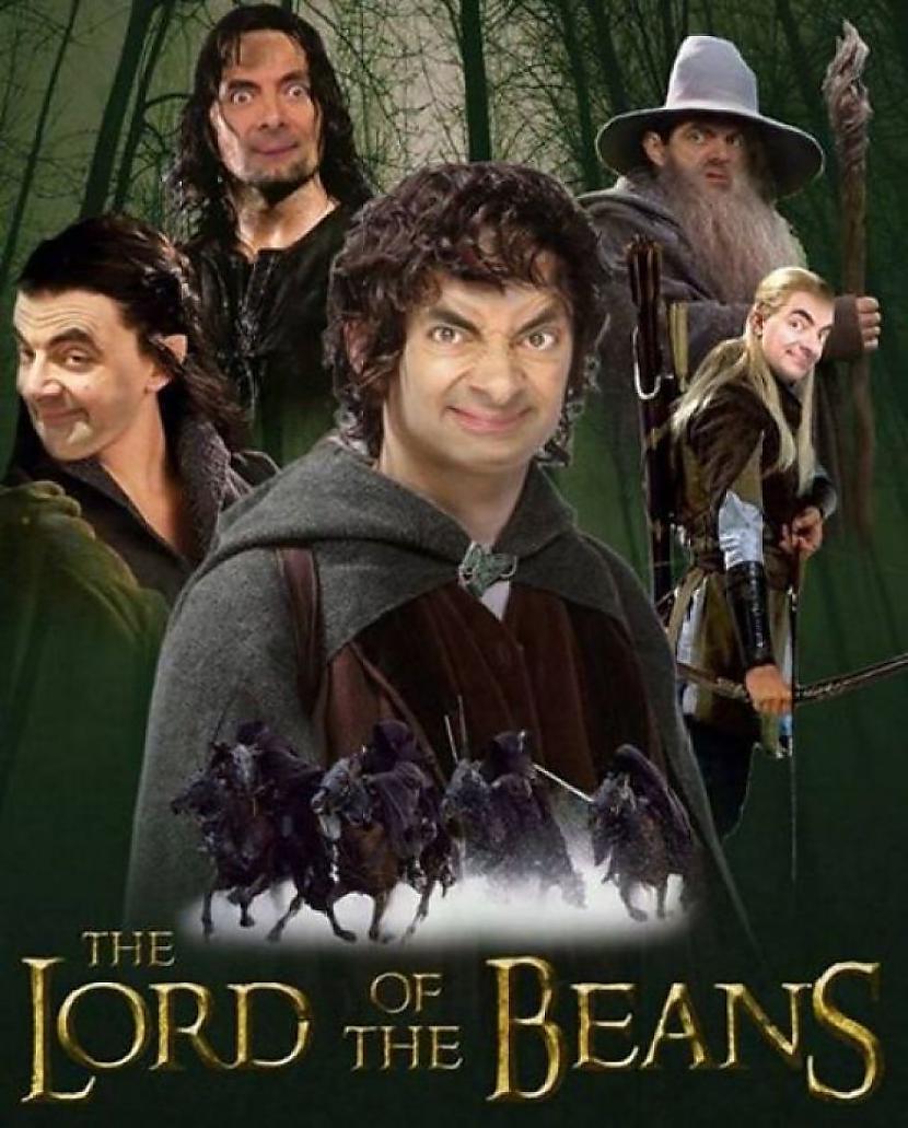 Autors: princeSS Fotošopa bildes ar Mr.Bean.