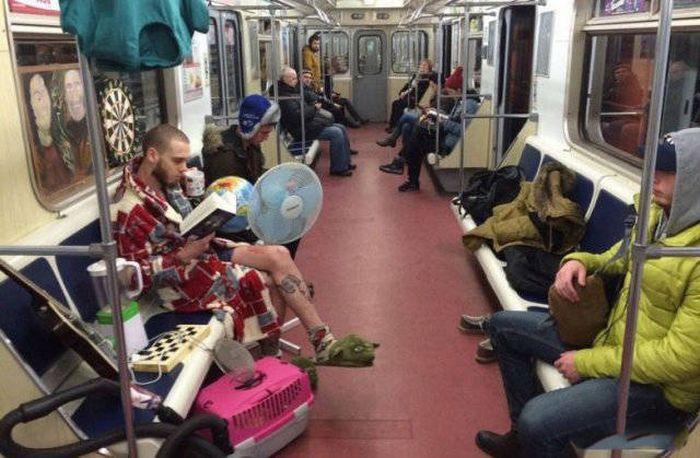 Autors: Mao Meow Pavisam parasts brauciens metro!