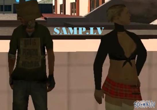 Autors: Fosilija SAMP.LV #1 Ar Pingvīnu un Pelmeni... Bomzis un Prostitūta ierodas Pilsētā...