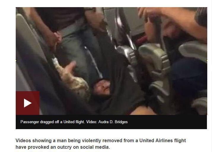 Par ko jūs nezinat1 United... Autors: Latišs Kāpēc United Airlines nav vainīga notikušajā!