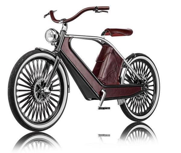 quotCyknoquot retro stila... Autors: Bauskas Motormuzejs Neparastie velosipēdi.