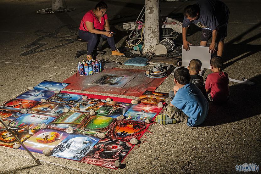 Ātro gleznu vīrs Autors: Alex Vikingo Foto no Meksikas ikdienas