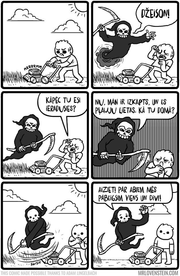 Autors: SERGOZA 20 skarbi smieklīgi komiksi par pieaugušo dzīvi. Sapratīs visi, kam pāri 25.