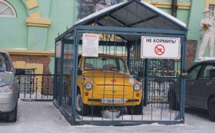 Pascaronam savs personīgais... Autors: Emchiks Iespējams tikai Krievijā 12