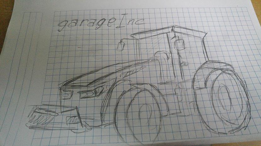 Autors: Fosilija FS traktors