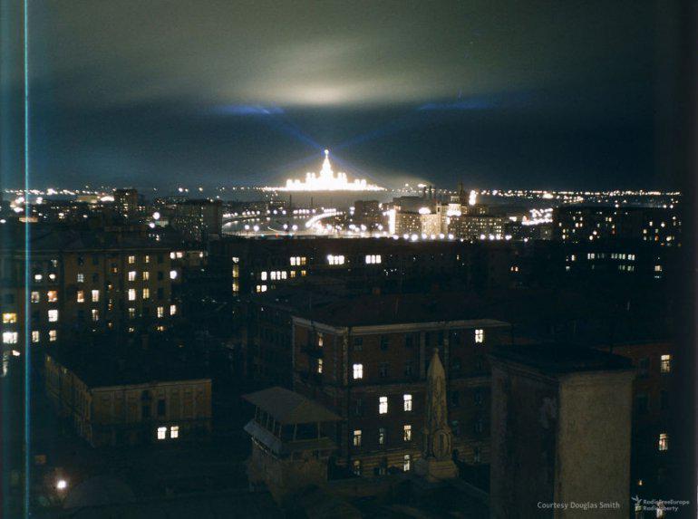 Izgaismotā Maskavasnbspnakts Autors: 100 A Reti redzēti kadri no Staļina ēras, kurus uzņēmis ASV spiegs!