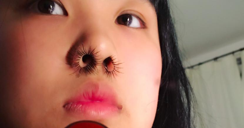 laquoInstagramraquo lietotāja... Autors: matilde Jaunākais modes BUMS - deguna matiņu pieaudzēšana!
