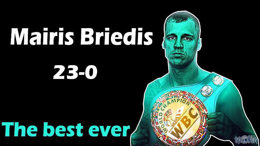 Autors: Edžons 2 Uztaisīju video par WBC CRUISERWEIGHT Čempionu Mairi Briedi!