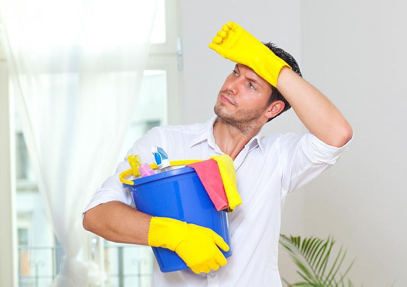 7 Mājās viņscaron uzņemas... Autors: rasiks Vīra īpašības, kas nodrošina saskaņu ģimenē.