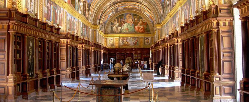 Eksoriāla bibliotēka Spānijā Autors: matilde 13 skaistākās bibliotēkas pasaulē, kas būtu jāapmeklē katram grāmatu mīlim