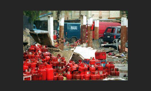 Sprādziens gāzes balonu... Autors: Plane Crash central Traģēdijas, kas šokēja Latviju (3)