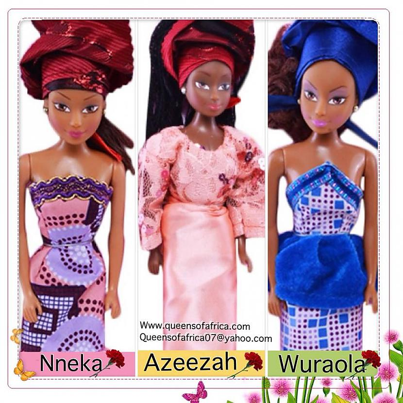 Queens of Africa lelles Autors: Zigzig Raksts par Bārbiju un citām lellēm 👸🏼